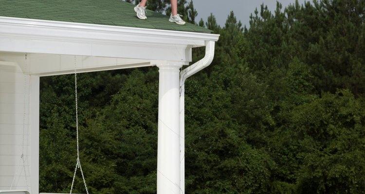 Un útil techo para el patio.