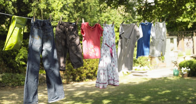 La ropa lavada que se seca rápidamente no se pone rancia por hongos y moho.