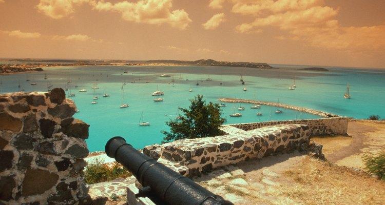Marigot se encuentra en al parte francesa de la isla de San Martín.