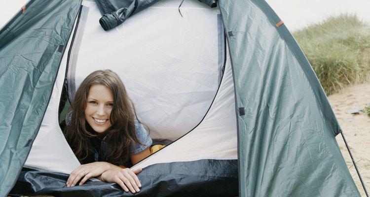 Los lugares para acampar frente al mar a menudo deben ser reservados con un mínimo de siete días de anticipación.