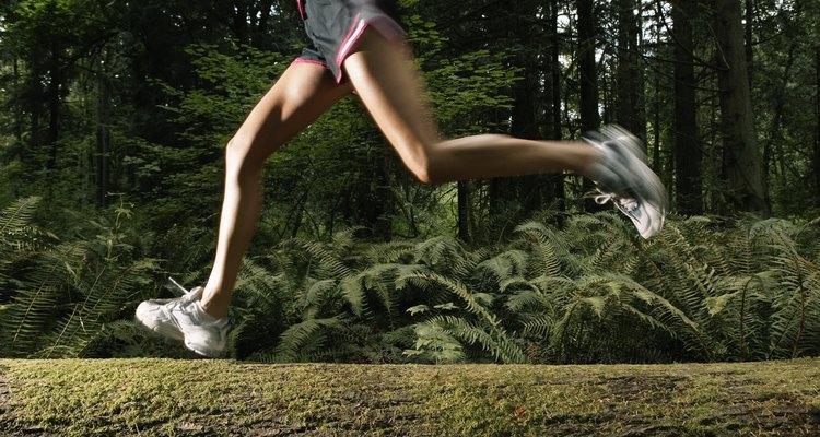 Caminhar e correr por zonas silvestres ajuda a melhorar o seu equilíbrio e incrementar a musculatura