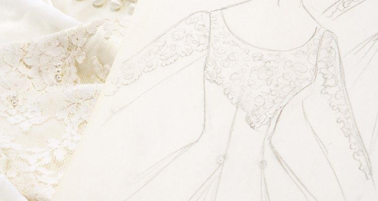 Las costura a mano son muestra de la calidad del vestido.