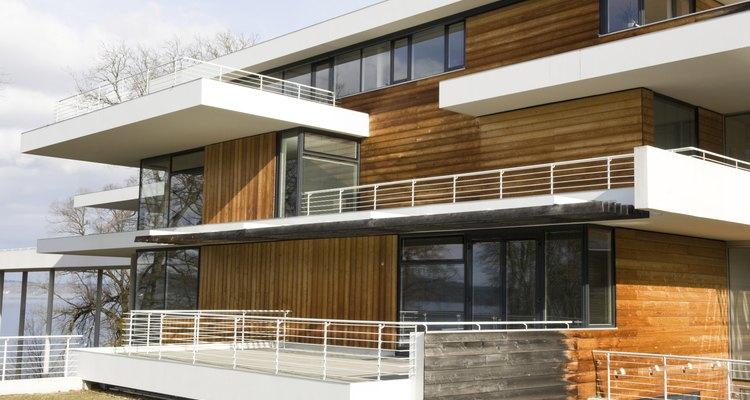 Fachadas y otros elementos de una casa.