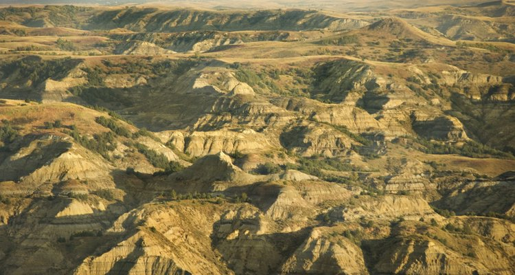 The entire Earth is made up of landforms.