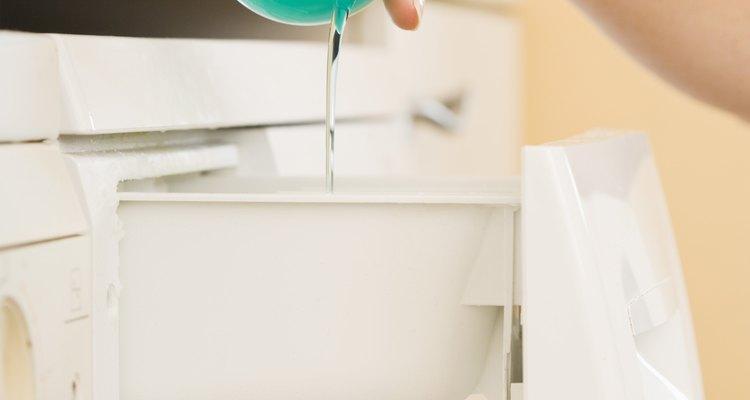 Usa detergente.