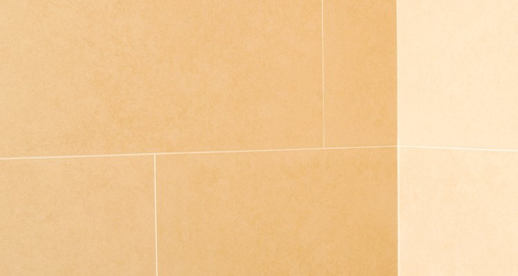 Drilling into tile grout requires special care.