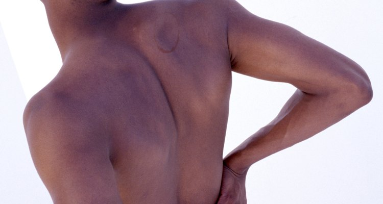 DDD causes pain in the lower back.