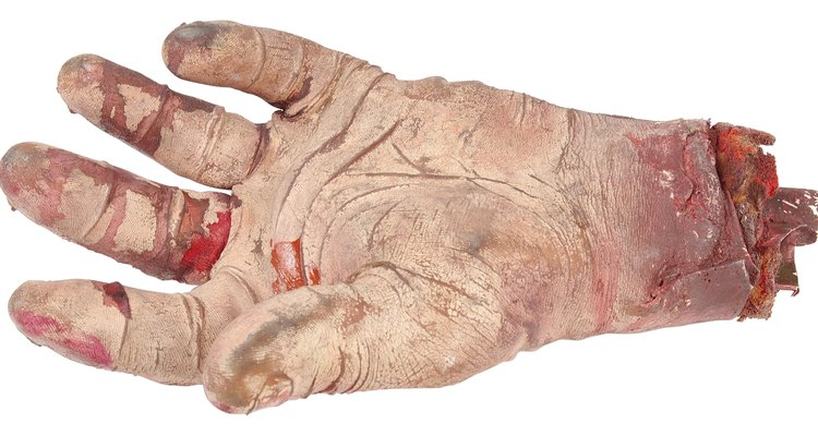Make pranks with your fake hand.