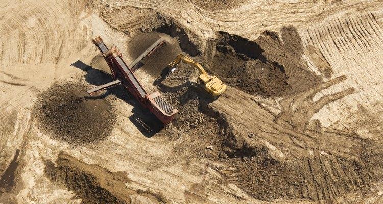 Explorar un yacimiento es una tarea minuciosa.