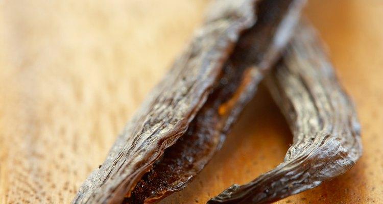 Las vainas de vainilla tienen el sabor auténtico.
