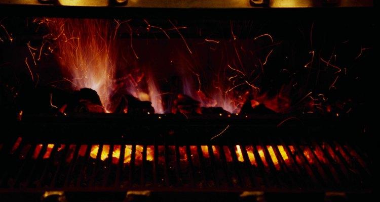 El calor alto es crítico para una fantástica hamburguesa.