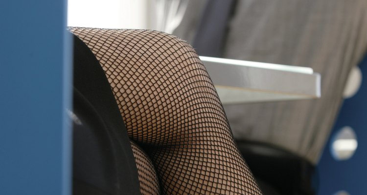 Fishnets can be sexy or stylish.