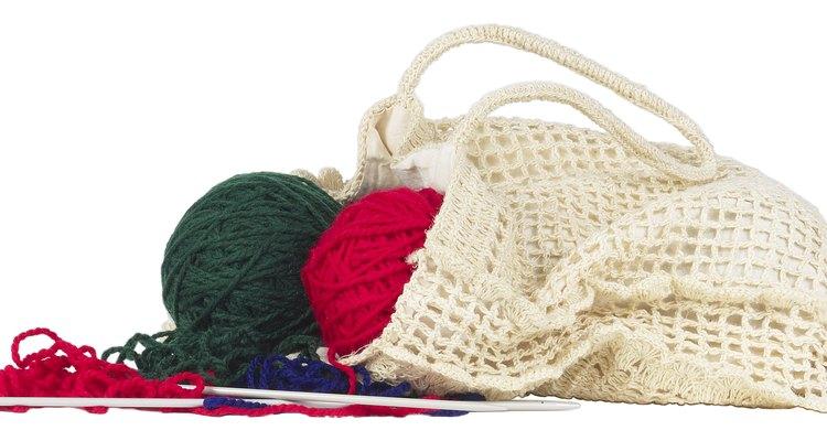 Try crochet instead of knitting.