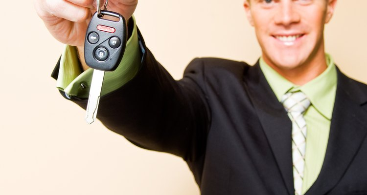 A Mini Cooper key not only operates the car, but can also remotely unlock car doors.