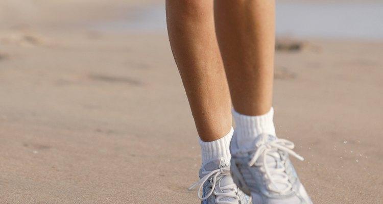 Uma corrida na areia e lama não significa necessariamente sapatos permanentemente manchados