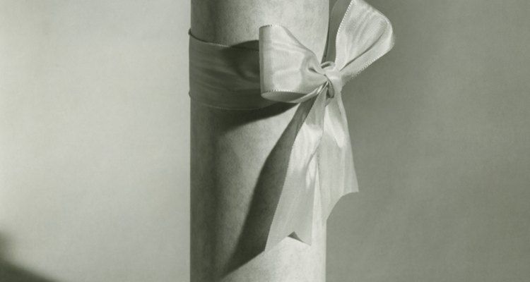 Parchment paper wrapped around votive candles can create luminaries.