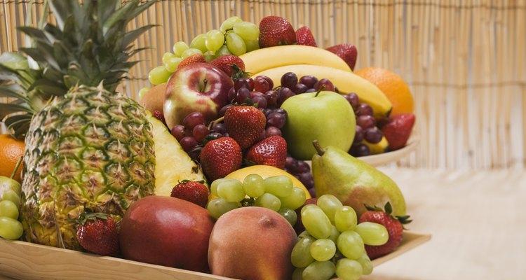 La fruta es una gran fuente de carbohidratos complejos, que se descomponen en glucosa para alimentar al cerebro.