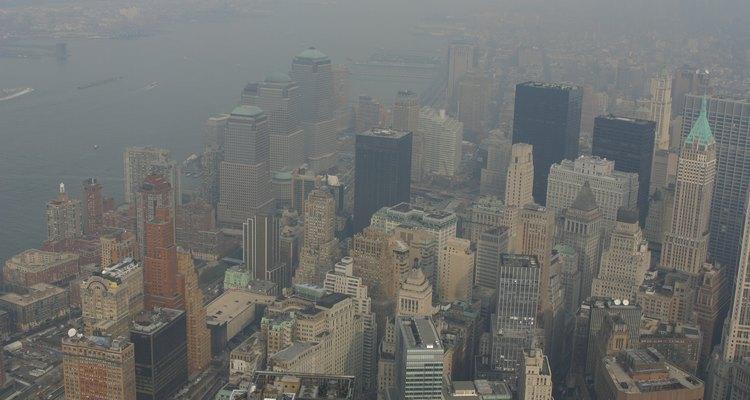O aumento do smog e a queda da qualidade do ar tornaram-se problemas maiores