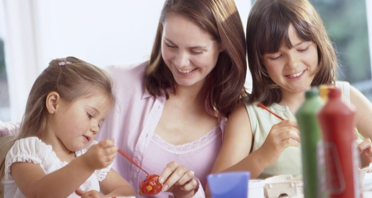 Decorating eggs is a creative activity for many occasions.