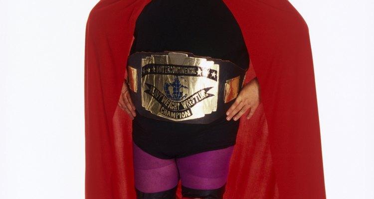 Os lutadores da WWE costumam ter nomes, golpes e fantasias únicas