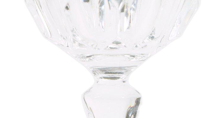 Las copas de cristal son delicadas y susceptibles a la suciedad y las manchas.