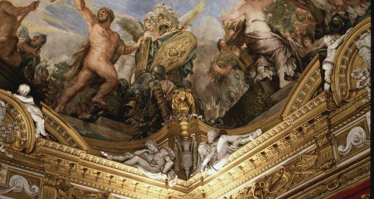 A pintura da capela sistina de Michelangelo contém várias pessoas nuas
