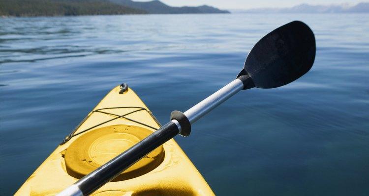 Luego de la búsqueda de cristal marino, haz kayaking.
