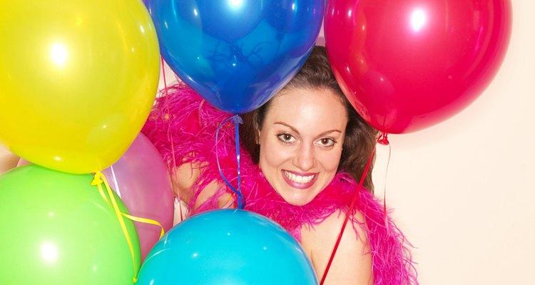 Los globos añaden un toque festivo a cualquier celebración.