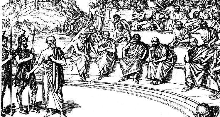Sócrates en su juicio.