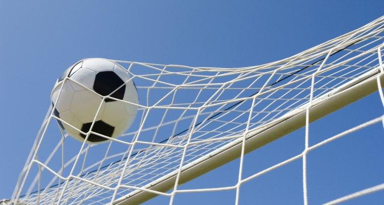 Arco de fútbol.