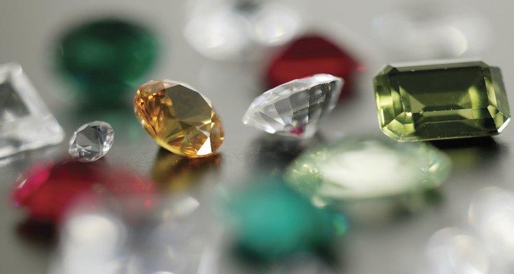 Se creía que las gemas tenían propiedades sanadoras.