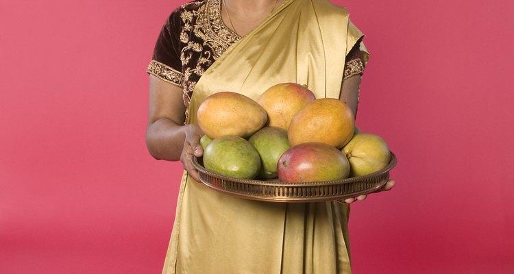 Los árboles de mango crecen en climas tropicales o subtropicales.