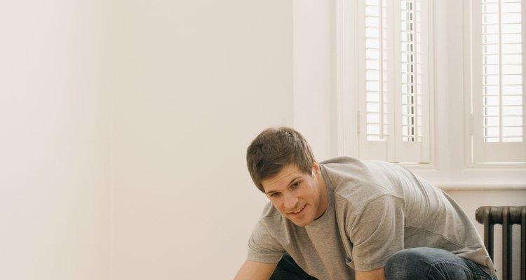Limpia tus pisos del polvo de concreto.
