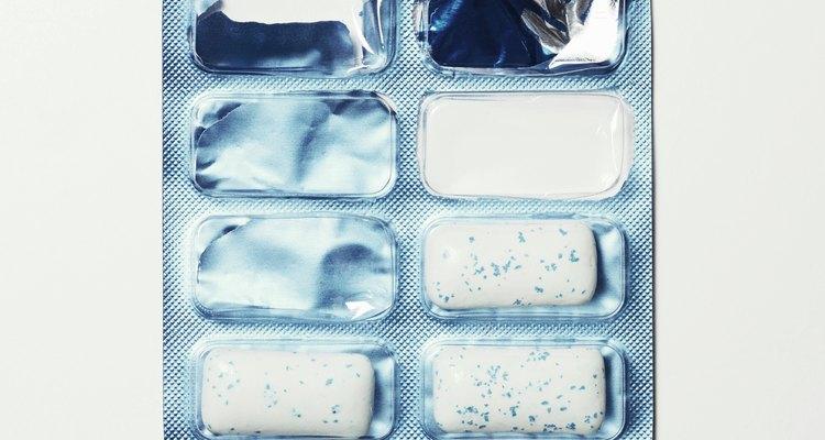 Estudos sugerem que os chicletes que contêm xilitol podem melhorar a saúde dental