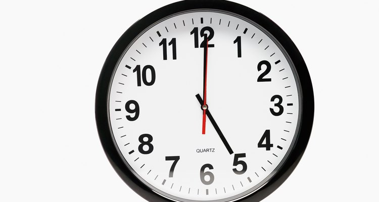 Battery operated quartz clocks can be disassembled for repair.