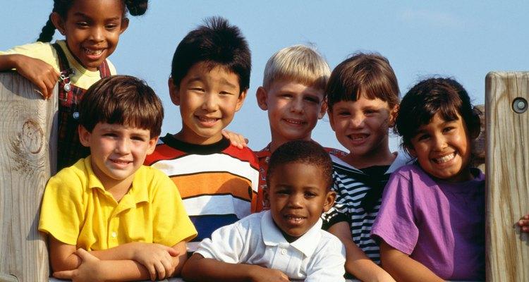 Para los niños, las barreras culturales son fáciles de superar.