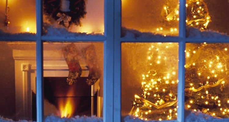 Medias de navidad tradicionales.