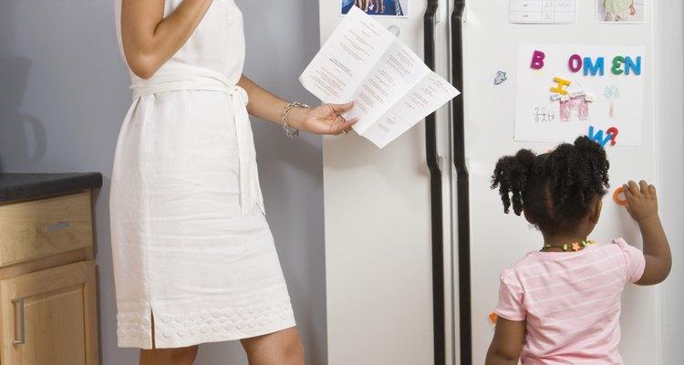 Topos de geladeira podem ser decorados com ítens variados