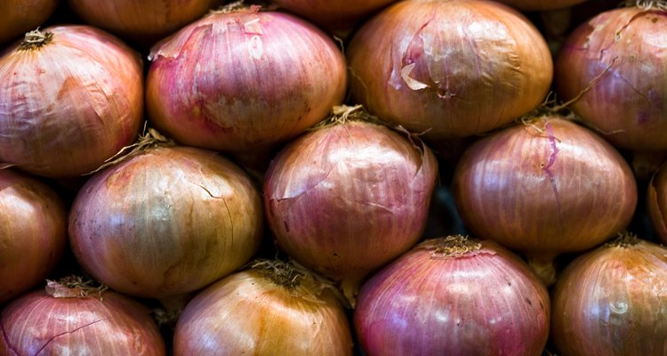 The strong scent of onions is released when the onion is cut.