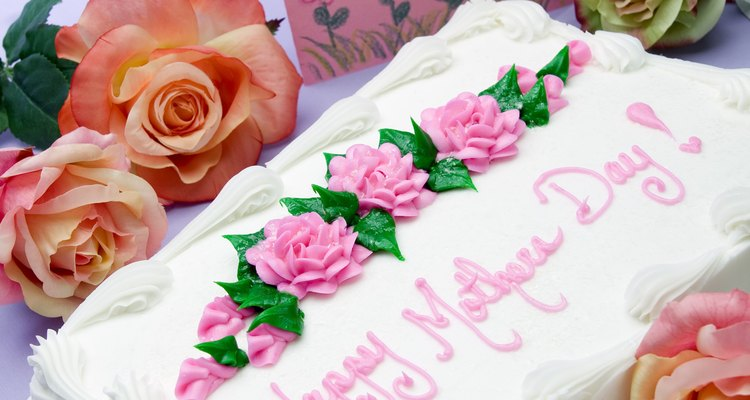 A large sheet cake is always a popular desert for big parties.