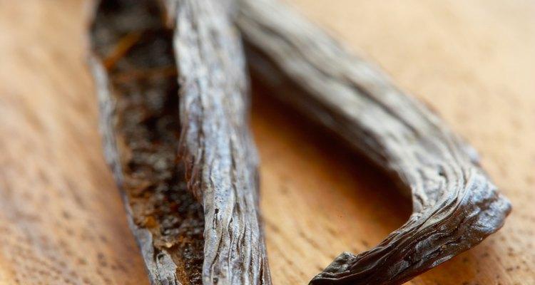 Baunilha serve como um absorvente de odores natural
