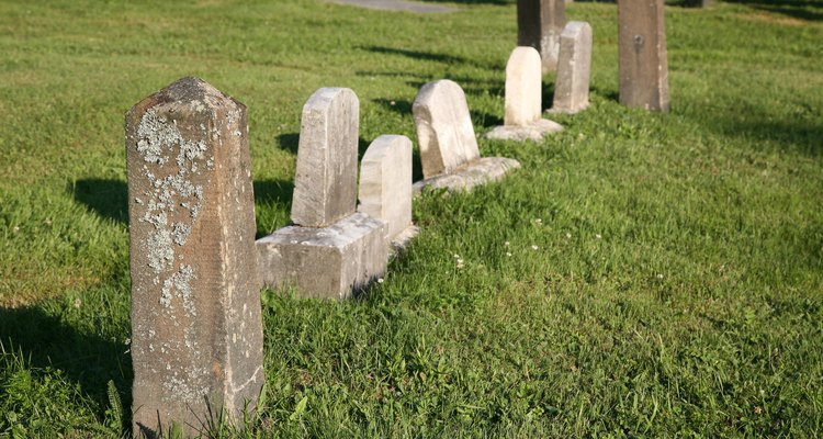A gravestone can be a source of comfort for some people.