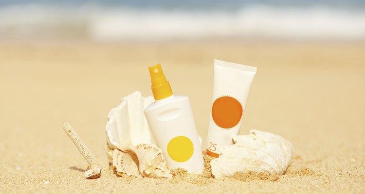 Sunscreen staff