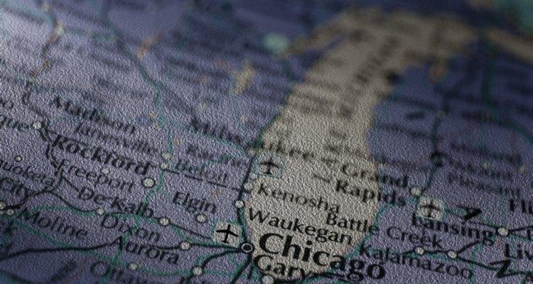 El lago Michigan es uno de los Great Lakes.