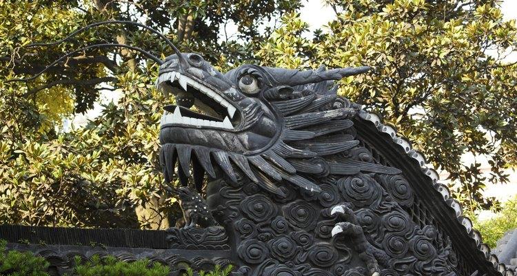 Dragão negro chinês