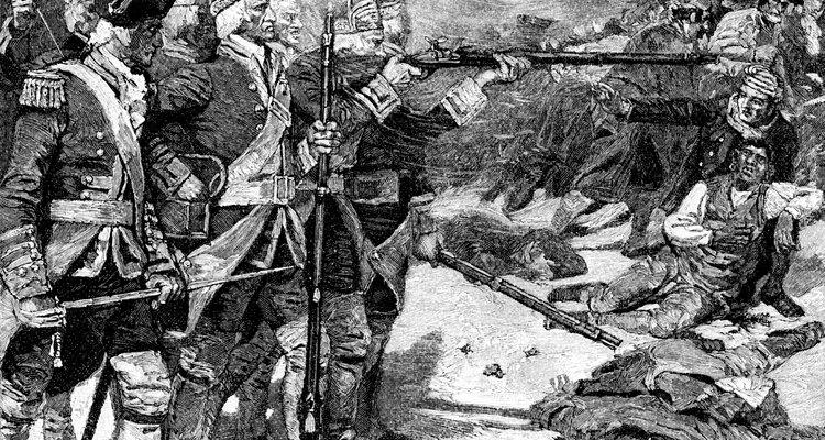 Dramáticas pinturas del incidente de 1770 fueron utilizadas como propaganda.