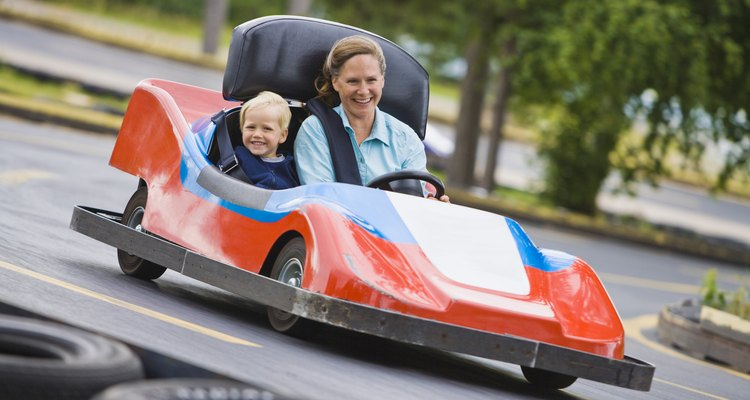A wide variety of go-kart body styles can be made from fibreglass.