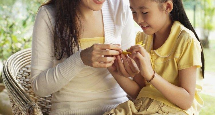 El tiempo para artesanías puede ser un evento familiar.