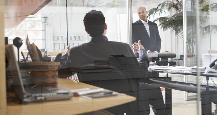 As grandes empresas podem escolher operar com uma estrutura divisional