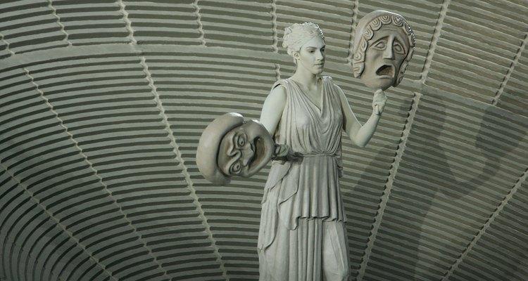 Representação dos deuses gregos